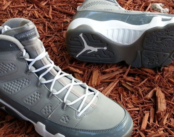 Air Jordan 9: Cool Grey 2012