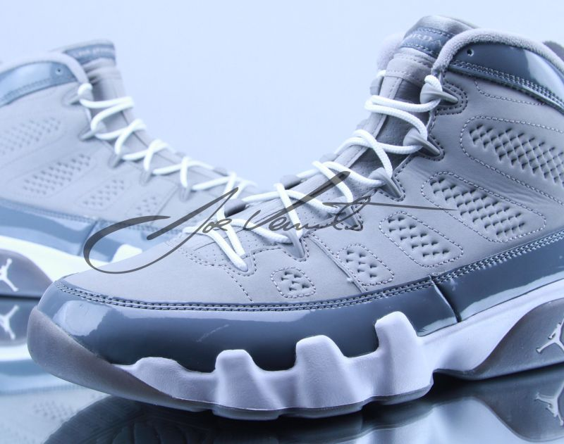 "nike air force one basse blanc - Air Jordan 9: ""Cool Grey"" - 2012 Retro - Air Jordans, Release ..."