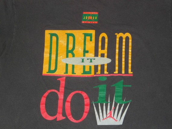 Vintage Gear: Air Jordan Dream To Do It T Shirt