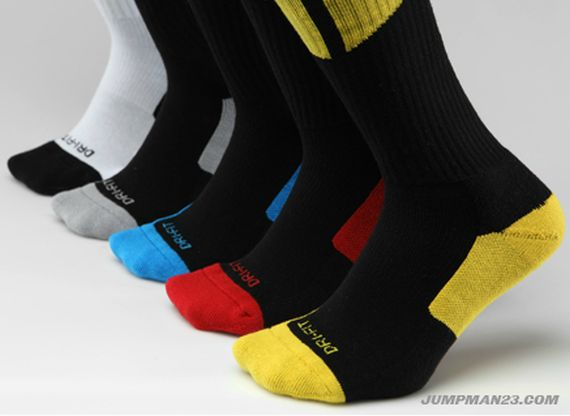 Air Jordan Dri FIT Crew Sock: New Colorways
