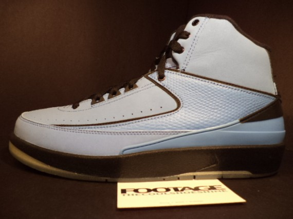 The Daily Jordan: Air Jordan II   University Blue   Black   2010
