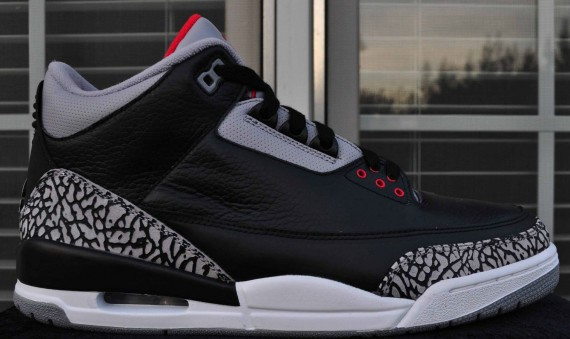 The Daily Jordan: Air Jordan III Black/Cement   2008