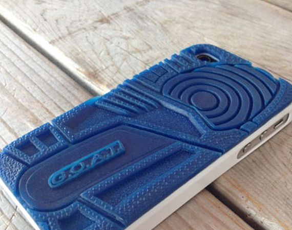 Air Jordan III True Blue iPhone Case by Quincy Design Co.