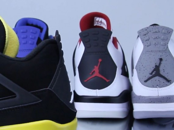 Air Jordan IV: 2012 Retro Comparison Video Review