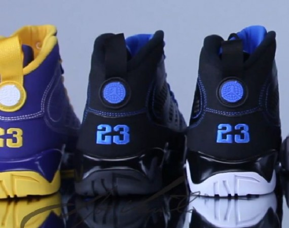 Air Jordan IX: 2012 Releases   Video Review