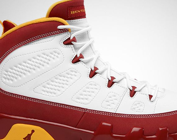 Air Jordan IX: Bentley Ellis   Official Images