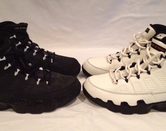 Air Jordan IX: Oregon Set   Available on eBay