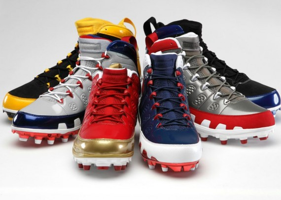 Air Jordan IX: NFL Cleat Collection