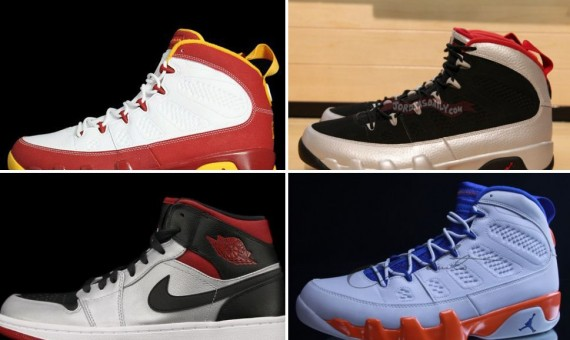 Air Jordan October 2012 Retro Releases