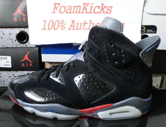 The Daily Jordan: Air Jordan VI Pistons   2010