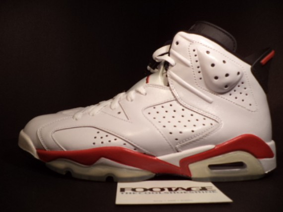The Daily Jordan: Air Jordan VI   White   Varsity Red   2010