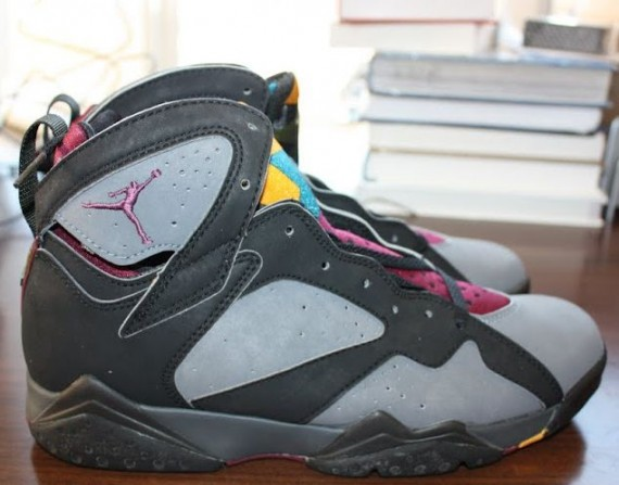 The Daily Jordan: Air Jordan VII Bordeaux OG   1992