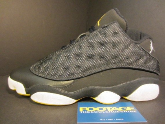 The Daily Jordan: Air Jordan XIII Low   Black   Varsity Maize   2005
