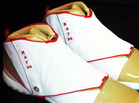 Air Jordan XVI: Ray Allen Miami Heat PE
