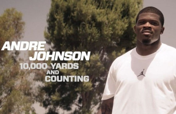 Jordan Brand Athlete Andre Johnson Surpasses 10,000 Receiving Yards