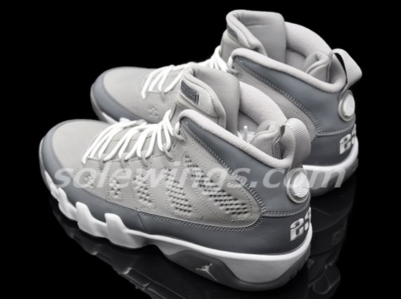 """Cool Grey"" Air Jordan 9: New Images"