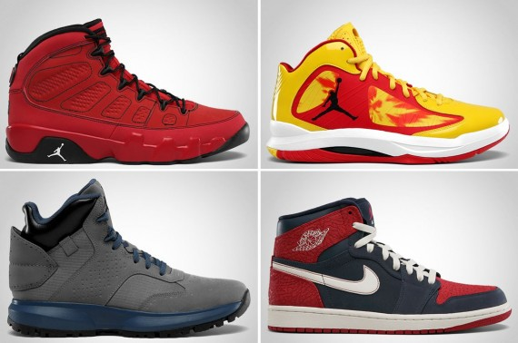 Jordan Brand November 2012 Footwear Update