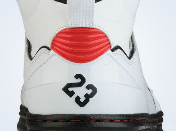 Jordan Sixty Club: White  Gym Red  Black