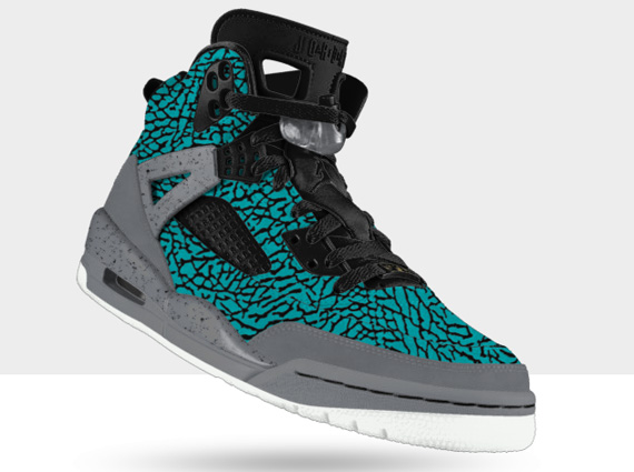 Jordan Spizike iD: Elephant Flip | Available
