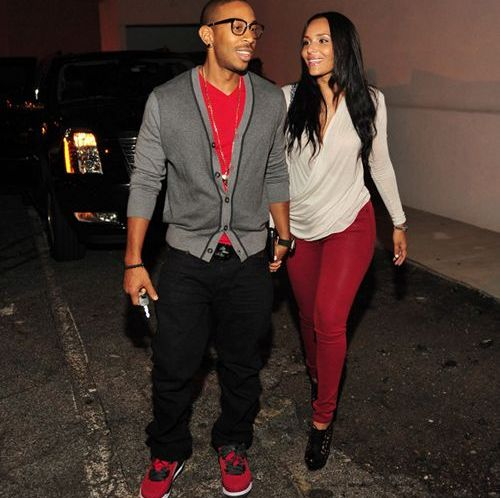 Ludacris Wearing Jordan Spizike Gym Red