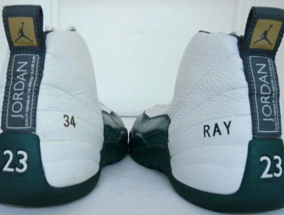 Air Jordan XII: Ray Allen Sonics Home PE