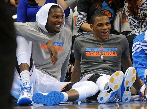 Russell Westbrook Wears Jordan Super.Fly