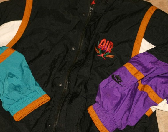 Vintage Gear: Air Jordan Windbreaker