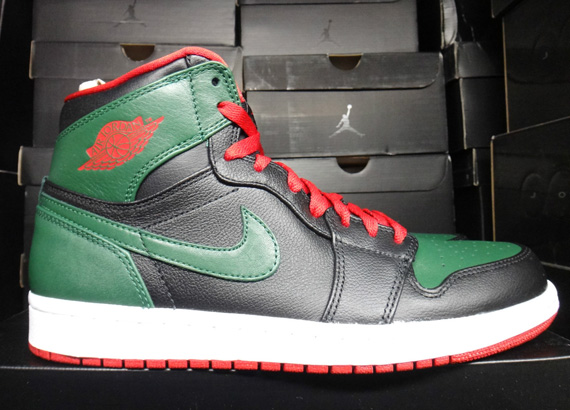 Air Jordan 1 High: Black – Gym Red – Gorge Green | Release Reminder