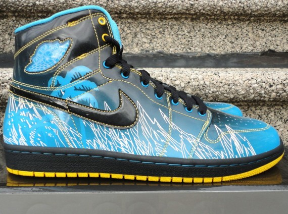 "The Daily Jordan: Air Jordan 1 ""Doernbecher""   2008"