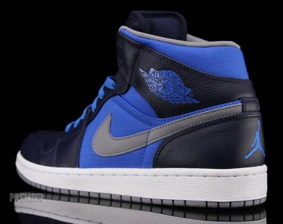 Air Jordan 1 Phat: Obsidian – Photo Blue – Stealth