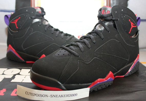 Air Jordan VII: Raptors   Restock Reminder