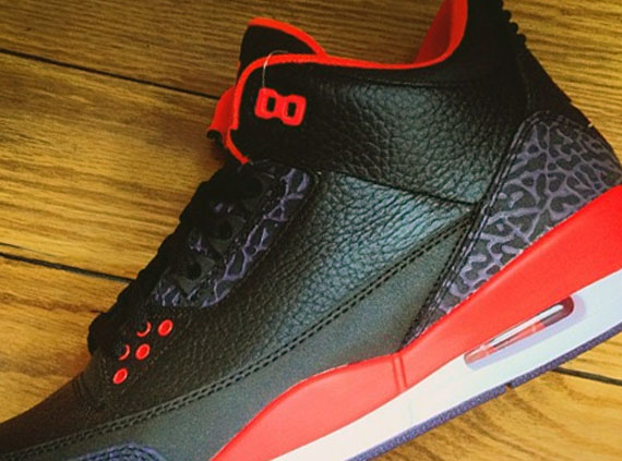 "Air Jordan III: ""Bright Crimson""   Release Date"