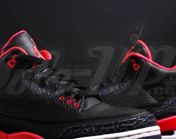 Air Jordan III Bright Crimson