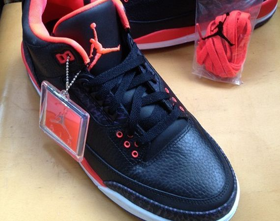 "Air Jordan III: ""Bright Crimson"" – Available Early on eBay"