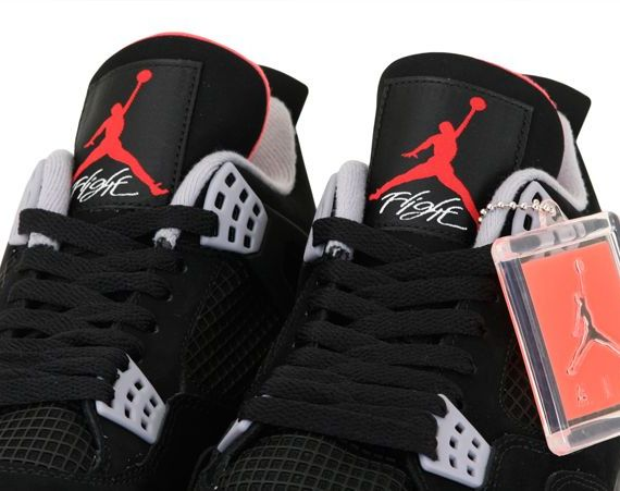 Air Jordan IV: Bred   Arriving in Stores