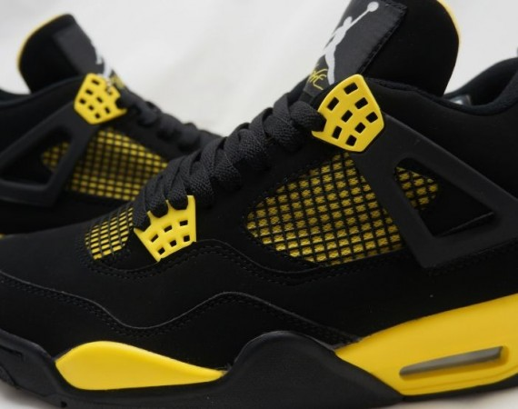 Air Jordan IV: Thunder   Release Date