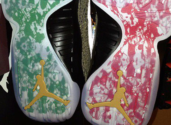"""Air Jordan IX """"Doernbecher"""" Soles"""