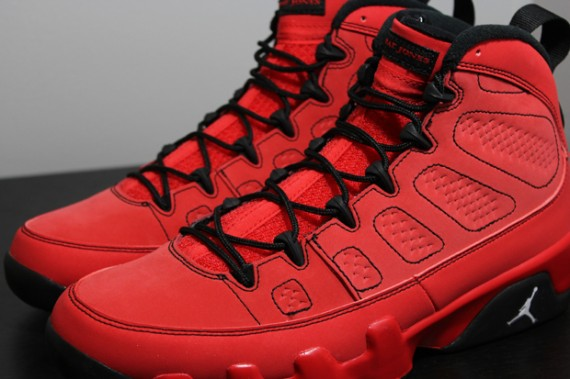 air jordan 9 all red