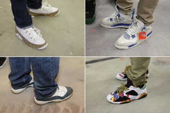 Sneaker Con NYC November 2012 Feet Recap