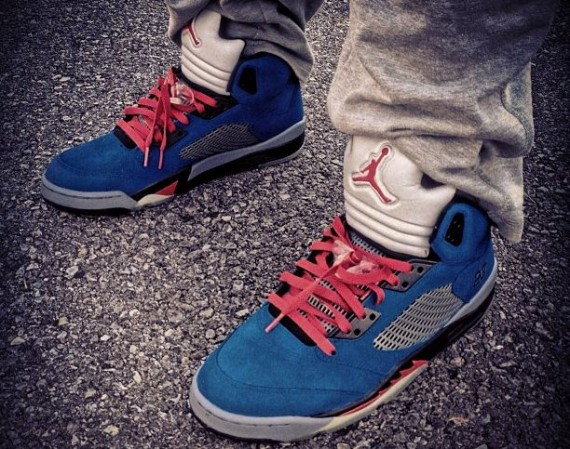 Air Jordan V: Eminem Customs by Mache