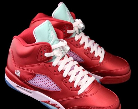 Air Jordan V GS Valentines Day