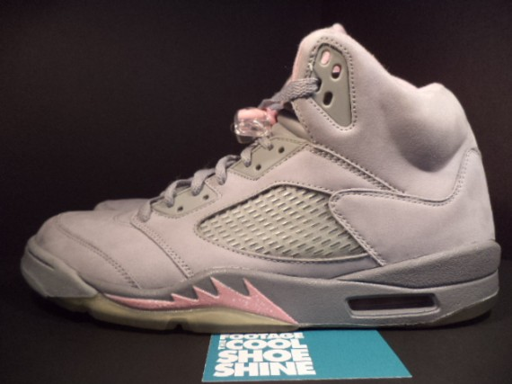 The Daily Jordan: Air Jordan V WMNS   Silver   Shy Pink   2006