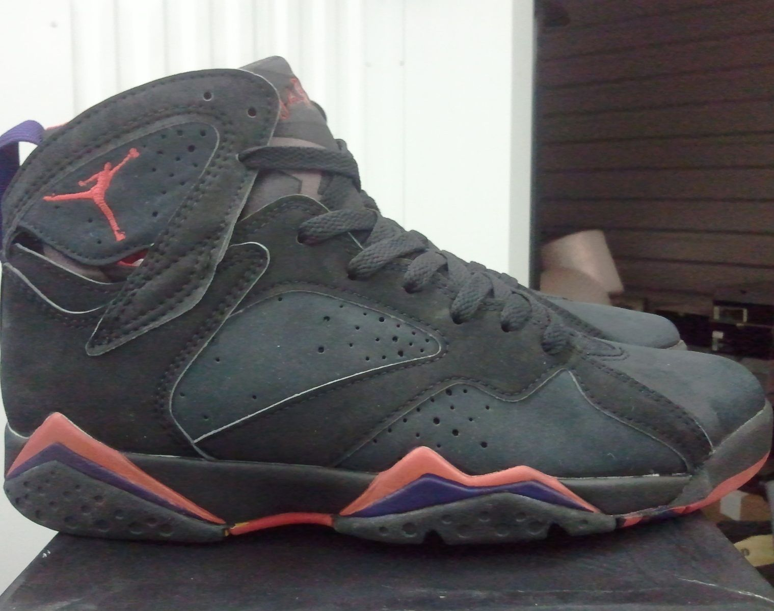 8ccd9136a19b35 If you re not taking part in the Air Jordan VII  Raptors  restock going  down later in the month