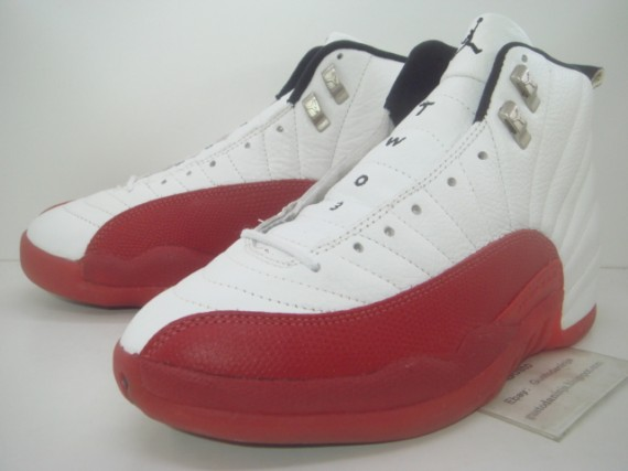 The Daily Jordan: Air Jordan XII OG   White   Varsity Red   1996