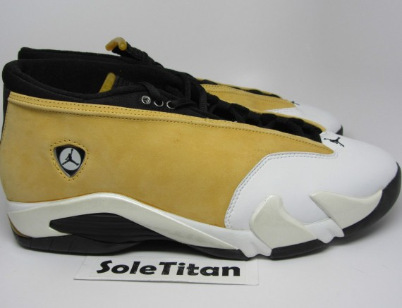 The Daily Jordan: Air Jordan XIV Low OG Ginger 1999