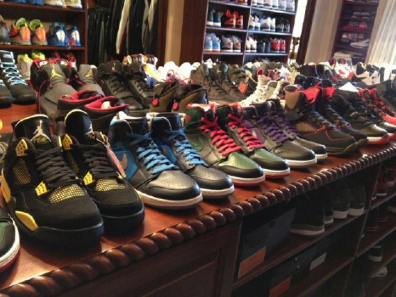 Chris Paul Shows Off Holiday 2012 Air Jordan Retros