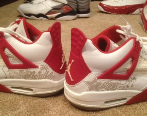 Derek Andersons Air Jordan PE Collection