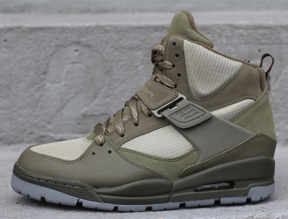 Jordan Flight 45 TRK: Cargo Khaki – Rogue Green