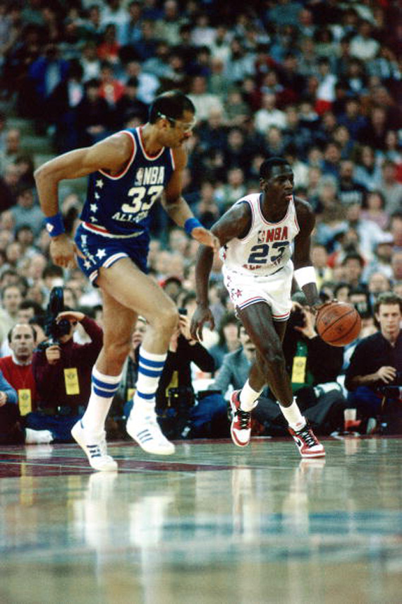 Sneakerpedia x Jordans Daily Presents: Michael Jordans All Star Sneakers