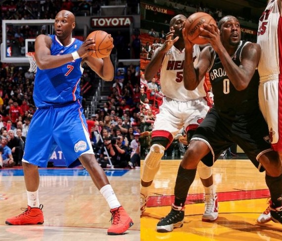 NBA Jordans On Court: 11/7/12